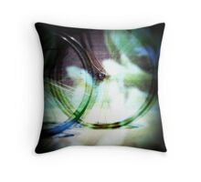 Colorful Wheels for Life Throw Pillow