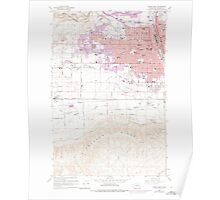 USGS Topo Map Washington State WA Yakima West 244820 1958 24000 Poster