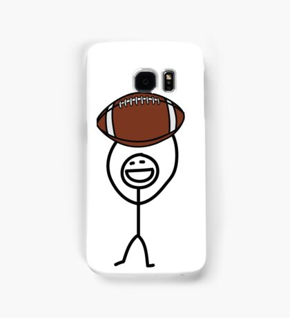 Football fan Samsung Galaxy Case/Skin