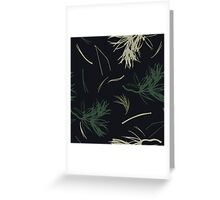 Needles. Nature graphic Greeting Card