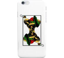Samus Playing Card Queen iPhone Case/Skin