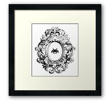 Rococo Invader Framed Print