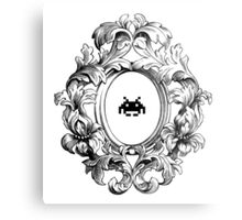 Rococo Invader Metal Print