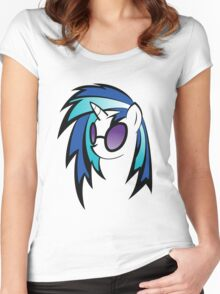 vinyl pony  Women's Fitted Scoop T-Shirt