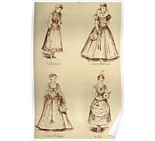 Fancy dresses described or What to wear at fancy balls by Ardern Holt 028 Moalian Amy Roboart Anne Boleyn Ait Poster