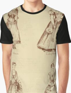 Fancy dresses described or What to wear at fancy balls by Ardern Holt 028 Moalian Amy Roboart Anne Boleyn Ait Graphic T-Shirt
