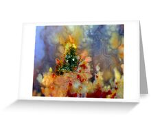 Christmas On Fire Greeting Card
