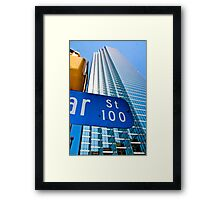 Bank of America Plaza at Dallas Framed Print