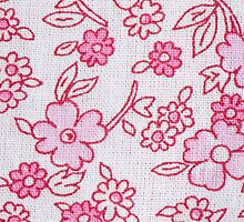 Pink textile pattern by homydesign