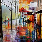 NOVEMBER IN PARIS - OIL PAINTING BY LEONID AFRMOV by Leonid  Afremov