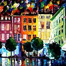 ROUIN- FRANCE - OIL PAINTING BY LEONID AFREMOV by Leonid  Afremov