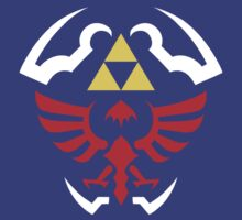 Hylian Shield - Legend of Zelda by TheInternet