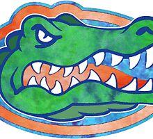 Florida Gator Tie Dye by katiefarello
