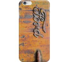 Rusty Orange Ford iPhone Case/Skin