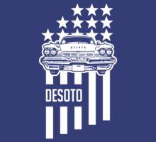 1950s DeSoto Stars & Stripes by Robin Lund