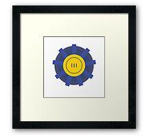 Vault 111 Framed Print