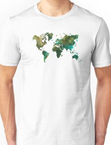 world map Unisex T-Shirt