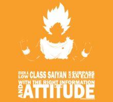 Goku - Attitude by SencilSketches
