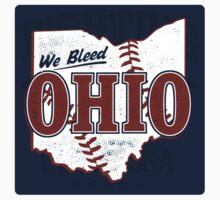 We Bleed Ohio Logo Tribe - Sticker by WeBleedOhio