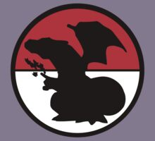 Charizard Silhouette, Pokeball  by stevebluey