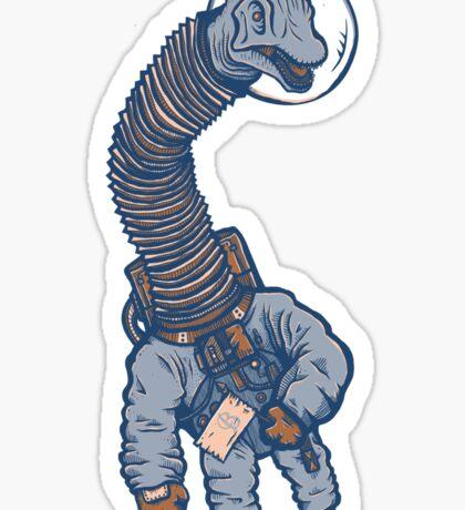 Astro Brachiosaurus Sticker
