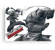 Full metal alchemist Canvas Print