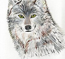 Smiling Wolf by Cathy Turner