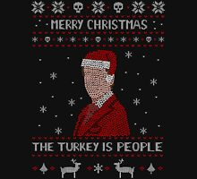 THE TURKEY IS PEOPLE - ugly christmas sweater Long Sleeve T-Shirt