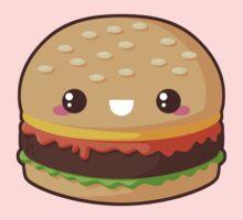 Kawaii Cheeseburger One Piece - Long Sleeve
