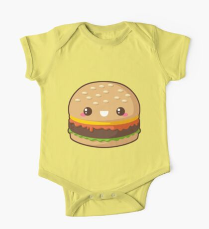 Kawaii Cheeseburger One Piece - Short Sleeve