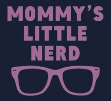 Mommy's Little Nerd Kids Tee