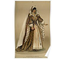 Fancy dresses described or What to wear at fancy balls by Ardern Holt 074 Countess of Argyle Mary Queen of Scots Poster