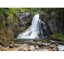 Gollinger Waterfall, Austria Photographic Print