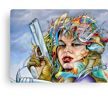 Mother Nature's Dark Side Canvas Print