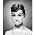 Audrey Hepburn by Martin Lynch-Smith