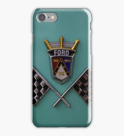 iPhone Case Classic Ford Checkered Flags iPhone Case/Skin