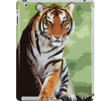 Wild nature - tiger iPad Case/Skin