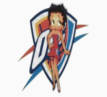 Betty boop is a Thunder girl!!! by alkapone26