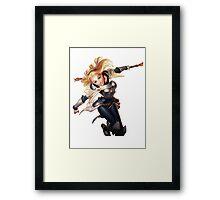 League Of Legends - Lux Framed Print