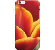 Burning tulips  iPhone Case/Skin