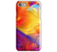 Bright water colours iPhone Case/Skin