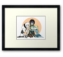Hiccup Love - SU!AU Framed Print