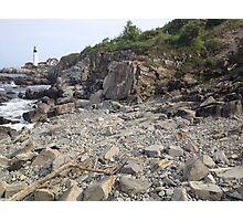 Lighthouse beach Photographic Print