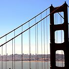 Golden Gate in June by mczahar