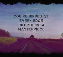 HALSEY-You're ripped at every edge  by Bandeerson