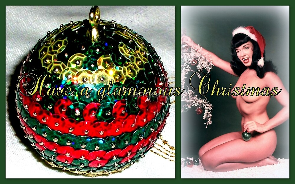 Have a glamorous Christmas by ©The Creative  Minds