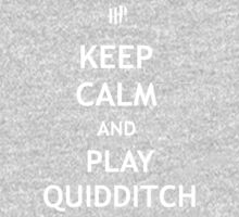 Keep Calm and Play Quidditch Kids Clothes