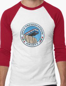 Self Preservation Society Men's Baseball ¾ T-Shirt