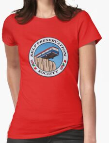 Self Preservation Society Womens Fitted T-Shirt