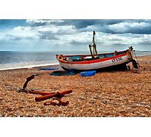 Aldeburgh Fishing Boat Photographic Print